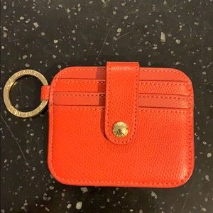 Vera Bradley Card ans Key Holder Orange-Red
